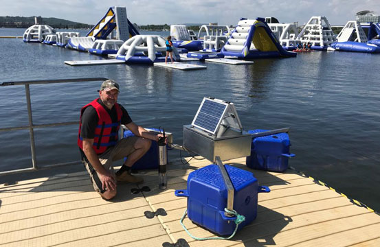 Real-Time Bathing Water Quality Monitoring for Total Coliforms
