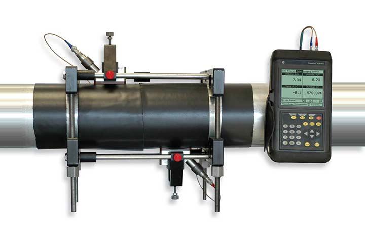 Dbitmtre portable pour gaz Panametrics PT878GC