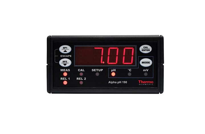 Alpha pH 190 pHORP ControllerTransmitter