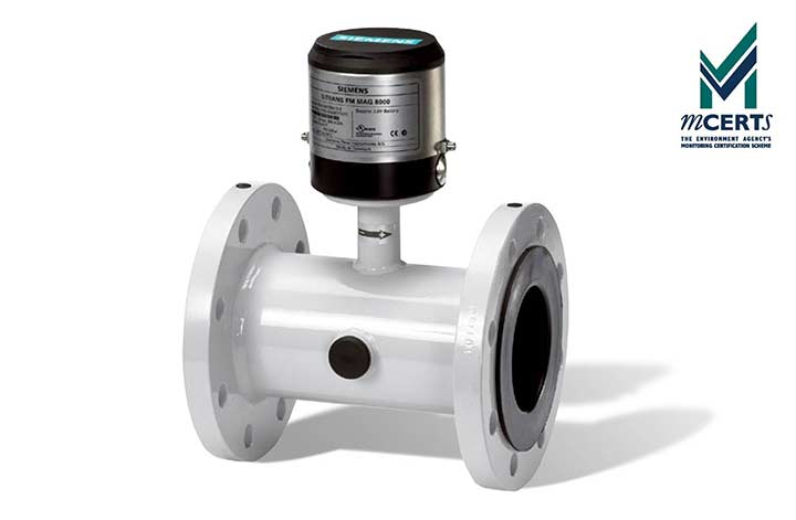 Battery Powered MAG 8000W Water Flow Meter