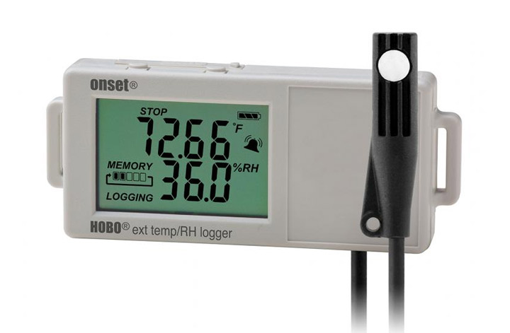 HOBO UX100-023A External Temp/RH Data Logger