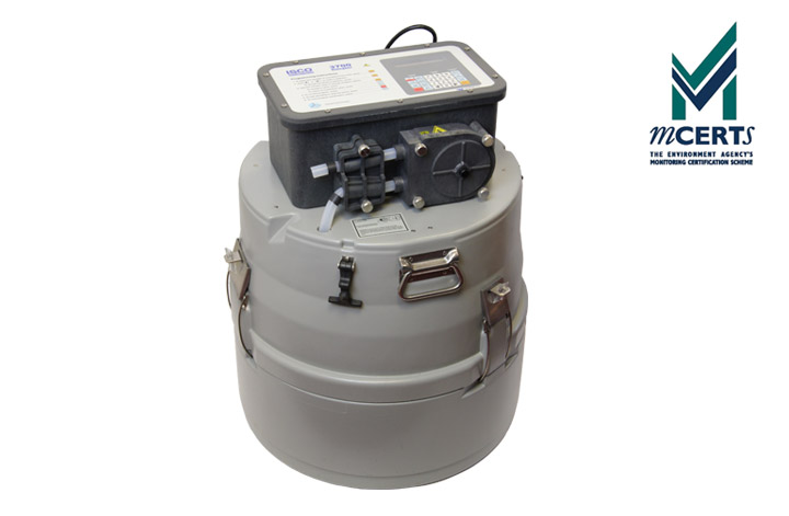 ISCO 3700 Automatic Water Sampler with mcerts logo