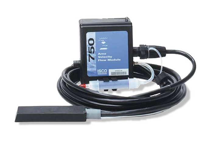 ISCO 750 Area Velocity Flow Monitor