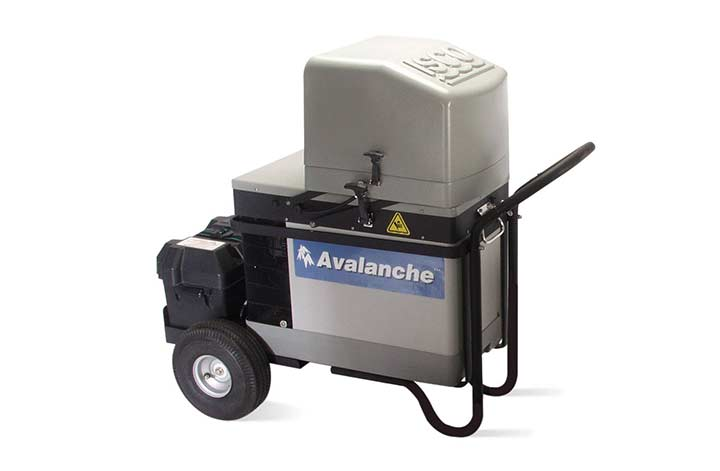 ISCO Avalanche Portable Refrigerated Sampler on wheels