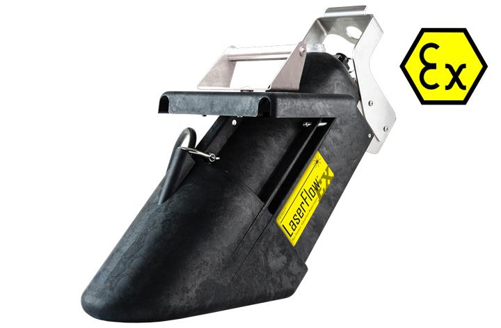 LaserFlow® Ex hazardous area velocity sensor