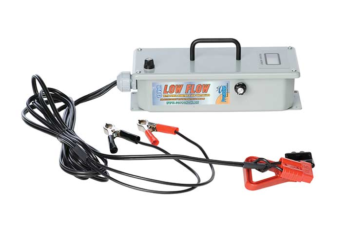 Low Flow Controller with Power Booster 1