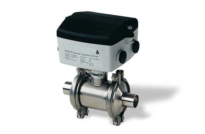 Le débitmètre magnétique MAGFLO 1100F