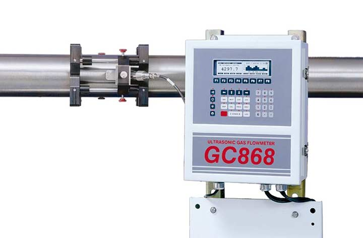 Panametrics GC868 Gas Flow Meter