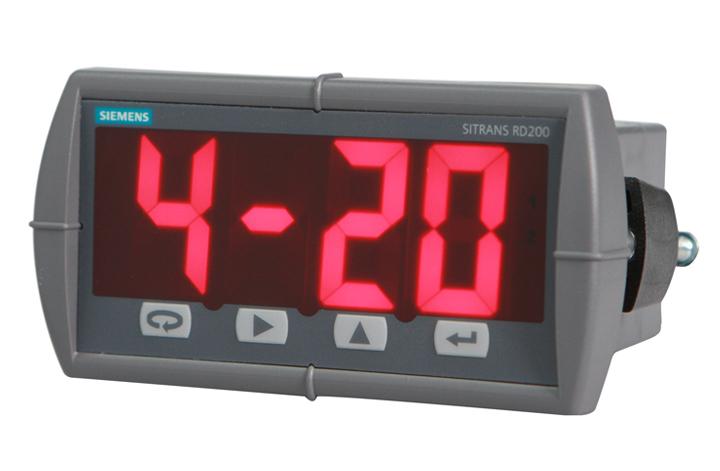 SITRANS RD200 Remote Digital Display