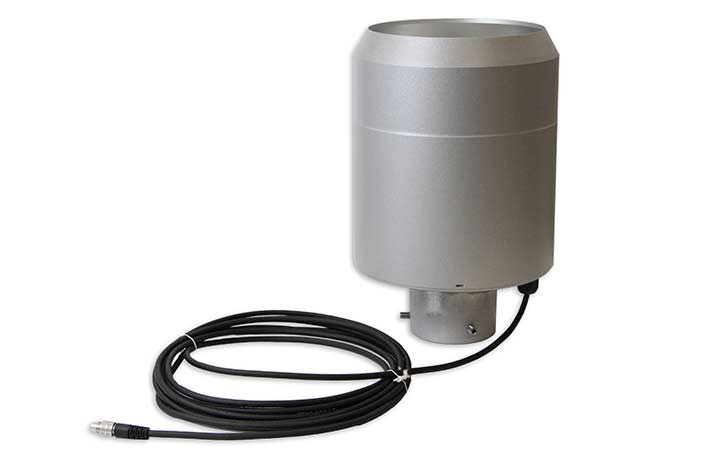 WMO Tipping Bucket Rain Gauge and wire
