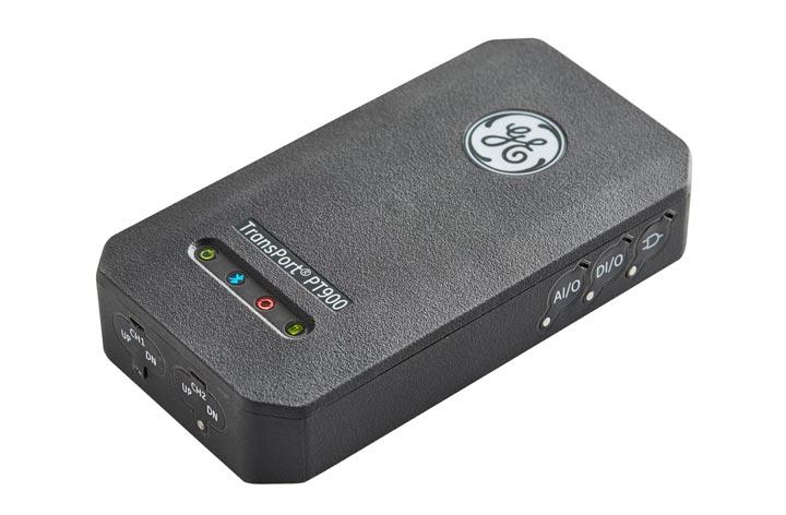 GE Panametrics PT900 Ultrasonic Clamp On Portable Flow Meter