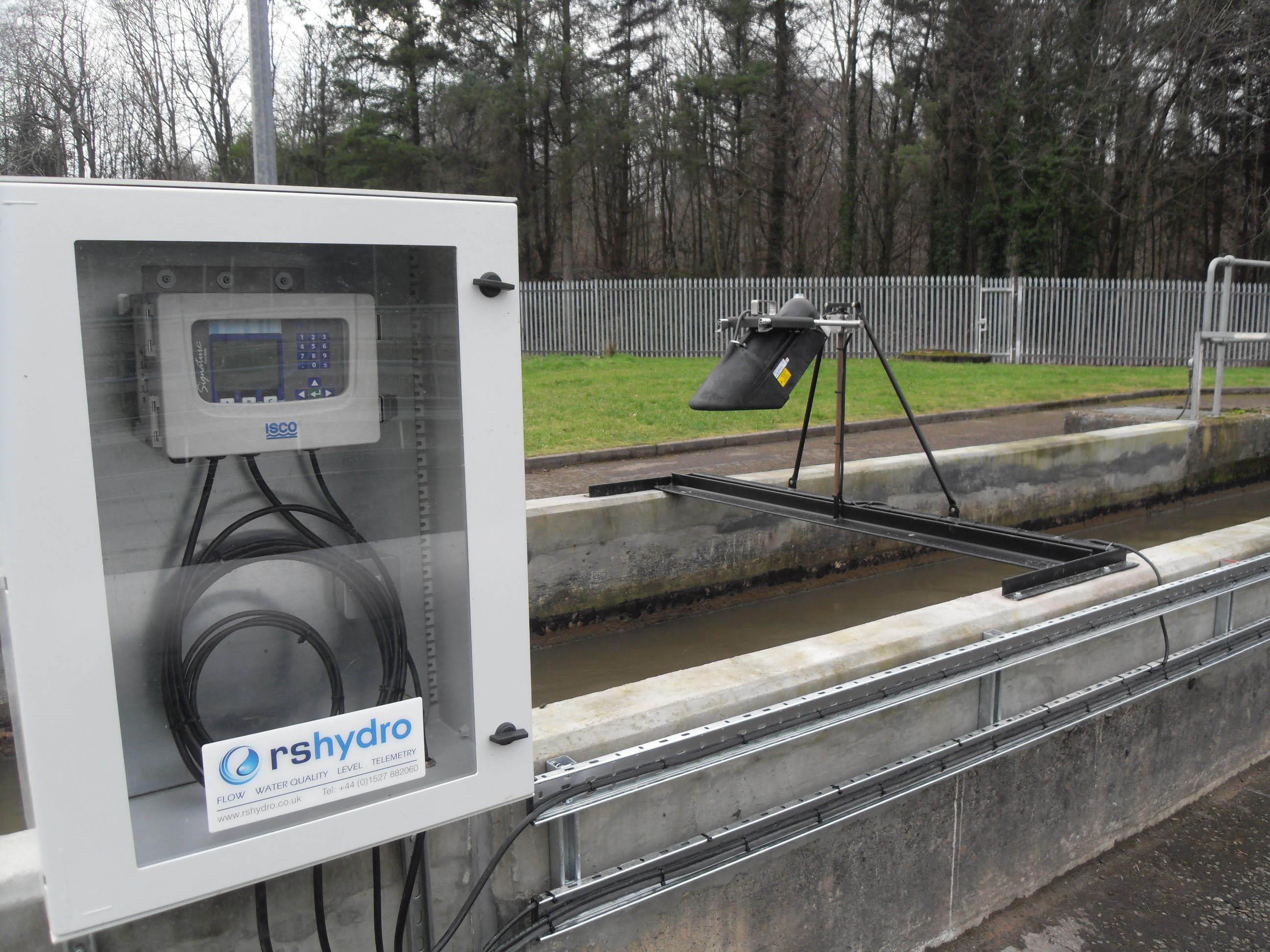 Isco Mcerts Laserflow Non Contact Flowmeter