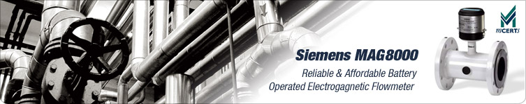 Siements Electromagnetic Flow Meters