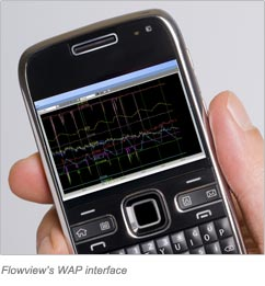 Flowview's WAP Interface