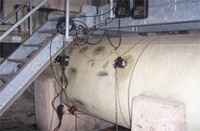 PT878 installed on the pipelines