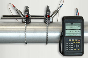 The Panametrics PT878 Ultrasonic Flow Meter