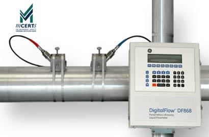 Panametrics DF868 Ultrasonic TransitTime Flow Meter